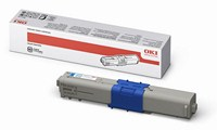 Mực in Oki C330 Cyan Toner Cartridge (44469757)